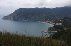 Day 3: Monterosso al Mare (Gregor  Samsa) Tags: italy italia cinqueterre nationalpark ligury ligura exploration trip journey hike hiking walk walking march spring adventure outdoor outdoors sea bay monterossoalmare monterosso al mare settlement coastal view viewpoint overlook vista houses peninsula clouds cloudy
