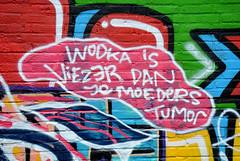 graffiti amsterdam (wojofoto) Tags: graffiti amsterdam netherland nederland holland wojofoto wolfgangjosten ndsm wodka