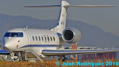 M-YSIX - Private - Gulfstream G650ER - PMI/LEPA (Juan Rodriguez - PMI/LEPA) Tags: aeronave avion nikon d90 sigma 70200mm 80400mm pmilepa sonsanjuan sonsantjoan aeropuerto airport palma mallorca aeroplano plane airplane aircraft gulfstream g650er mysix bizjet