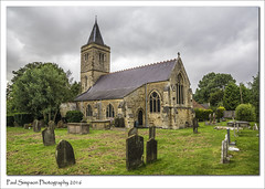 St Clements, Worlaby, Lincolnshire (Paul Simpson Photography) Tags: stclements worlaby northlincolnshire villagechurch church graves august2016 summer sonya77 imageof imagesof paulsimpsonphotography photoof photosof headstones spiresteeple historic history