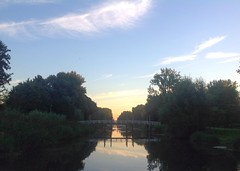 Poldervaart Schiedam (sander_sloots) Tags: poldervaart schiedam canal vaart kanaal beatrixpark morning light ochtend ochtendlicht dusk dawn sunrise zonsopkomst
