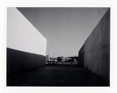 Tucumcari, NM (moominsean) Tags: polaroid 190 instant fuji fp3000b newmexico tucumcari southwest missing ministryofhope morning shadows