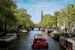 Amsterdam (Matthieu Tijou) Tags: paysage landscape holland netherlands nederland nature natural canon 600d 18135 18135mm polder canal bateau navigation tourist tourisme dam amsterdamer sun sunset water extrieur