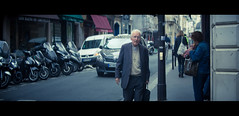 The Priest (James Yeung) Tags: cinematic anamorphic movie priest paris france candid kowa