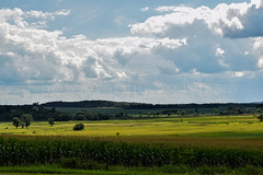 Shadows, Skies, and Country Sides (TheCozyEscape) Tags: country rural farm farmland sky skies cloud clouds field fields trees hills land green blue grass environment landscape earth living nature natural refreshing air layers depthoffield view shadow shadows