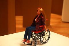 Barbie (aponirakis) Tags: moma museumofmodernart modernart art barbie wheelchair m