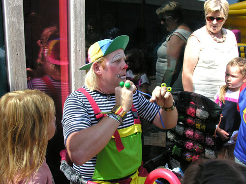 ZiZ 16aug-2016 - Speelnamiddag met Clown Tyno