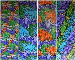Noorderzon ,Collage,Groningen stad ,the Netherlands,Europe (Aheroy) Tags: fdsflickrtoys collage noorderzon escher schilderijen aheroy aheroyal groningen groningenstad