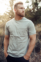 (bernardmesa1) Tags: approved canon 5d mkii 50mm f32 portrait guy boy men male malemodel model eyes fit muscle outdoors natural light lompoc california 805 bernard mesa