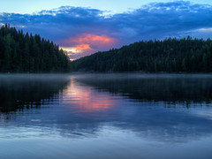 Isojrvi (MikeAncient) Tags: hdr handheldhdr kuhmoinen perukka suomi finland kylm isojrvi jrvi lake lakescape sky clouds pilvet pilvi cloud taivas heijastus reflection geotagged