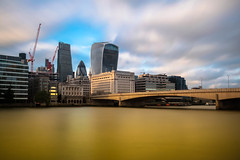 LONDON BRIDGE (Rober1000x) Tags: summer verano 2016 london londres uk england europe europa bridge puente river thames skyline tower architecture arquitectura clouds sky