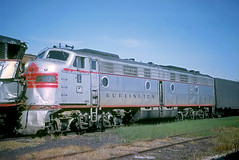 CB&Q E9 9987A (Chuck Zeiler) Tags: cbq e9 9987a burlington railroad emd locomotive eola chz chuck zeiler