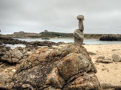 Rock Balancing , arch beach, Alderney (neilalderney123) Tags: 2016neilhoward alderney landscape zen rockbalancing rockstacking beach archbeach corblets