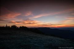 coucher de soleil (cedric.simonot) Tags: nature paysage coucherdesoleil ballondalsace nikond3200 1685mm
