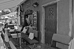 """Monochrome Street Details"" (giannipaoloziliani) Tags: seasidetown nikon blackandwhite nikoncamera nikond3200 monochrome monocromo monochromatic monocromatico biancoenero restaurant portofino liguria italy street details streetdetails urbanstreet downtown italia giannipaoloziliani streetphotography ristorante entry"
