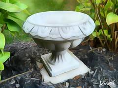 1474771634827 (WestKastle) Tags: vinci urn gardendecor