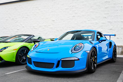 Baby Blue (Noah L. Photography) Tags: porsche 911 gt3 rs 991 blue babyblue lightblue car sportscar supercar german lamborghininewportbeach newportbeach costamesa