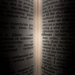Dictionary (Daren N.) Tags: macromondays thefirstletterofmyname dictionary letter d book spine different