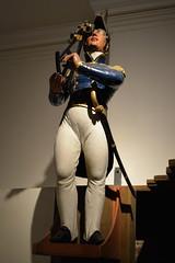 Instrumental (dhcomet) Tags: eastriding yorkshire east museum heritage history hull kingstonuponhull instrument maker sign figure advertising sailor sextant