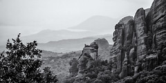 Saint Nicholas of Anapafsas (Joe Szalay) Tags: meteora greece monastaries mountains for rain landscape theholymonasteryofsaintnicholasofanapafsas