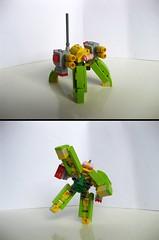 Big-Flak (Starflower.6) Tags: mfz lego mech game mobile frame zero