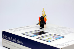 Microsoft Ignite (dr_spock_888) Tags: lego collectible minifigure ninja fire dyslexia