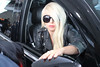 Lady Gaga arrives at LAX airport Los Angeles, California