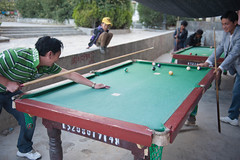 Corner Pocket (vividcorvid) Tags: china boy people abstract man sports pool fun asia child emotion places tibet recreation shigatse billards
