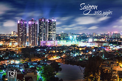 Sun Rise city (Andy Le | +84908231181) Tags: road city travel people urban tower andy skyline night sunrise canon buildings river hotel hall asia vietnamese chaos district young culture 7 vietnam explore le chi ho frontpage minh saigon committee