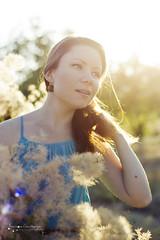 (Ole Lukoie) Tags: park flowers light summer portrait sun nature girl beauty smile 50mm bokeh            aktau