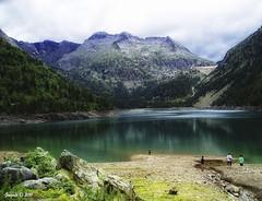 Lac d'Ordon (Gonzalo y Ana Mara) Tags: lago francia vacaciones gonzalo pirineos olympusmju300d lacdordon ringexcellence gonzaloyanamara reservanaturaldenouvielle