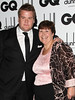 James Corden with his mother