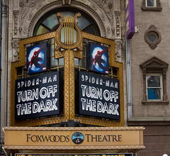 Spiderman: Turn Off the Dark @ Foxwoods Theatr...