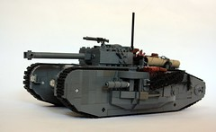 Mk XXII Tank (Babalas Shipyards) Tags: track tank lego military land vehicle armour warfare