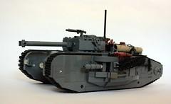 Mk XXII Tank (Babalas Shipyards) Tags: track tank lego military land vehicle armour warfare