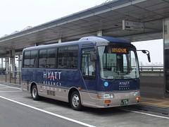 日本交通 ハイアットリージェンシー大阪送迎バス (izayuke_tarokaja) Tags: シャトルバス 日本交通 リエッセ