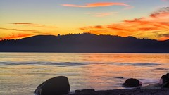 A firey sunset over Lake Taupo (Primal Earth Images) Tags: park way stars landscape star earth trails images national astrophotography tongariro volcanic milky percival primal bevan primalearthimages bevanpercival