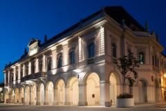 Gradisca's Theatre at night (p1ndar0) Tags: nightphotography square italia piazza notte friuliveneziagiulia gradiscadisonzo