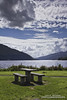 Picnic (DMeadows) Tags: summer lake water clouds rural bench table scotland wooden picnic chairs argyll hills loch arrochar lochlong davidmeadows dmeadows davidameadows dameadows yahoo:yourpictures=yoursummer yahoo:yourpictures=waterv2
