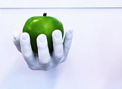 Green Apple (mikiitaly) Tags: usa hand moma apfel colorphotoaward paololivornosfriends bestcapturesaoi sailsevenseas elementsorganizer ruby10 ruby5 ruby15