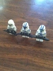 Republic Customs Order #2 (Misery Productions) Tags: star war republic lego jet troopers wars clone operation customs moc knightfall