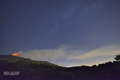 Notte di stelle e lapilli (Andrea Rapisarda) Tags: longexposure light wild summer italy panorama nature night fire volcano nikon italia estate tripod ngc wideangle august bluesky natura location sicily sammy etna guides notte eruption catania sicilia fuoco shootingstars vulcano torchlight manfrotto nationalgeographic ginestra d800 starrynight sciara sciare cenere torce nottedisanlorenzo fiaccole stellecadenti meteore nicolosi eruzione fiaccolata lungaposa magicalnight 10agosto nottestellata et schienadellasino attivitvulcanica etnasud perseidi nottemagica serralanave samyang14mmf28 mtetnavolcano spinesante stelleelapilli muntagnainfesta2012