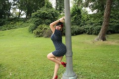 kousenband Amateur latina babe