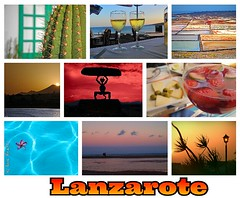 for you ... (anbri22) Tags: collage postcard lanzarote canarias puzzle card foryou anbri