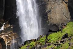 Refreshing! (Axel_) Tags: usa water canon eos waterfall wasser wasserfall falls yosemite yosemitenationalpark vernal refreshing vernalfall wasserflle 50d