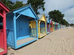 LLanbedrog beach huts 2 (Angela Farrington) Tags: abersoch llanbedrog beachhuts llynpeninsula llanbedrogbeachhuts