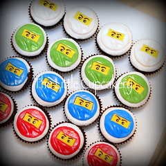 Ninjago Cupcakes (Klaire with a Cake) Tags: cupcakes kai lloyd zane jai tlc thelittlecupcakery klairescupcakes ninjago