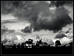 Passing By Sky (ronramstew) Tags: light sky blackandwhite bw silhouette clouds scotland perthshire shade 1001nights 1001nightsmagiccity
