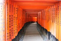 Fushimi Inari Shrine, Kyoto (Emanuele_Crocco) Tags: travel travelling japan kyoto viaggi giappone fushimiinarishrine viaggiare eyesoftravellers