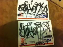 Night Author (sssavey) Tags: night graffiti graff author guam handstyle wstk